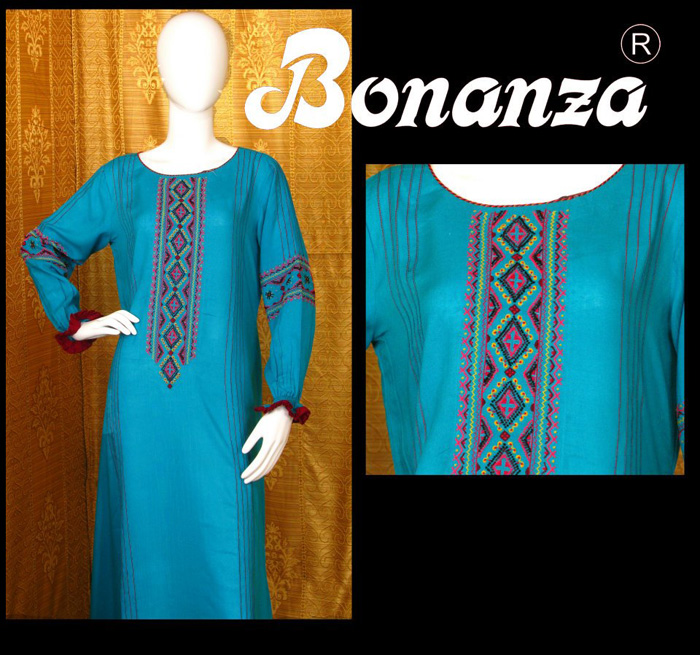 Bonanza New Arrivals Winter Collection 2013 2014 For Girls Rs. 4,200