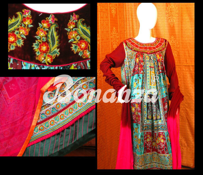 Bonanza New Arrivals Winter Collection 2013 2014 With Price Rs. 9,200