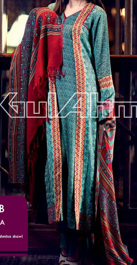 Gul-Ahmed-Pashmina-Shawl--FALLWINTER--COLLECTION-2013-2014--2013-4,500