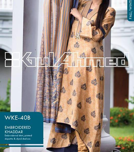 gul ahmed winter collection 2013 volume 2 Gul Ahmed Fall Winter Khaddar Magazine Collection 2013 vol 2
