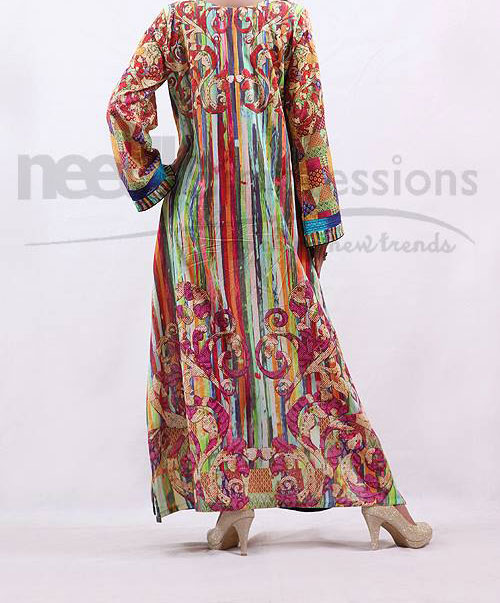Needle-Impressions Colorful Dresses Winter Collection 2013 2014 for Women