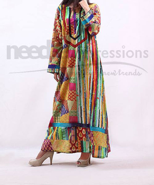 Needle-Impressions Dresses Winter Collection 2013 2014 for Women