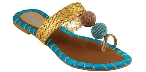 GuL-Ahmed-2014-Winter-Sandals-Slippers-Collection for Girls