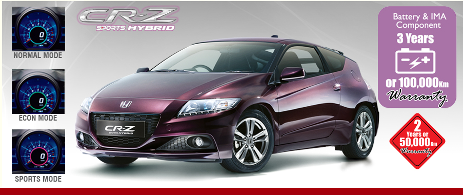 Honda - Pakistan - CR-Z