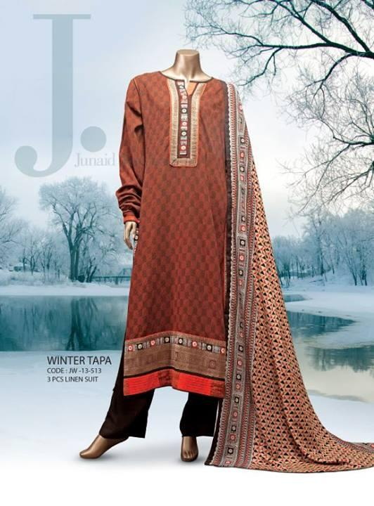 Junaid Jamshed WINTER COLLECTION 2014 Fashion Trends