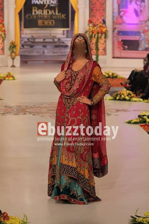latest bridal dresses 2014 collection Latest Bridal Dresses Fashion Trend in Pakistan 2014 Collection