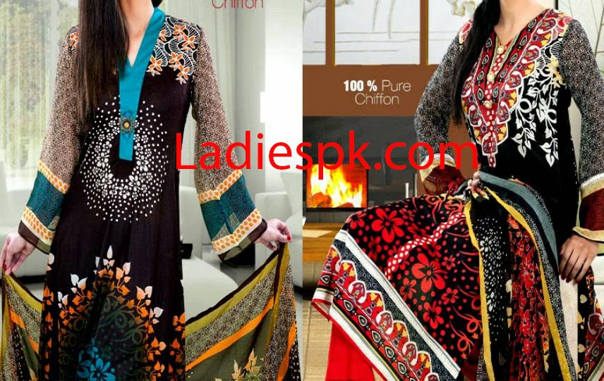 Latest Summer Lawn Shalwar Kameez Designs Collection 2014 Long Shirts for Girls