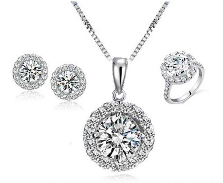 Necklaces Rings & Earrings Design 2014 with Price in Pakistan