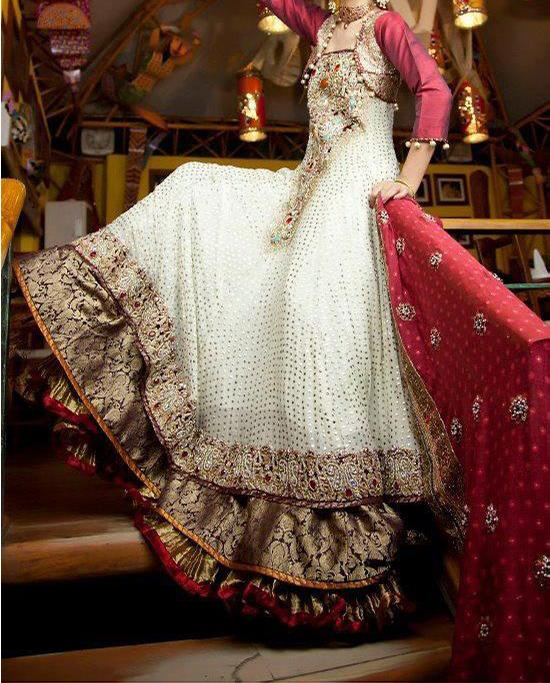 pakistani bridal dresses latest collection walima dresses 2014 valima1 Latest Pakistani Bridal Dresses Collection 2014 for Walima