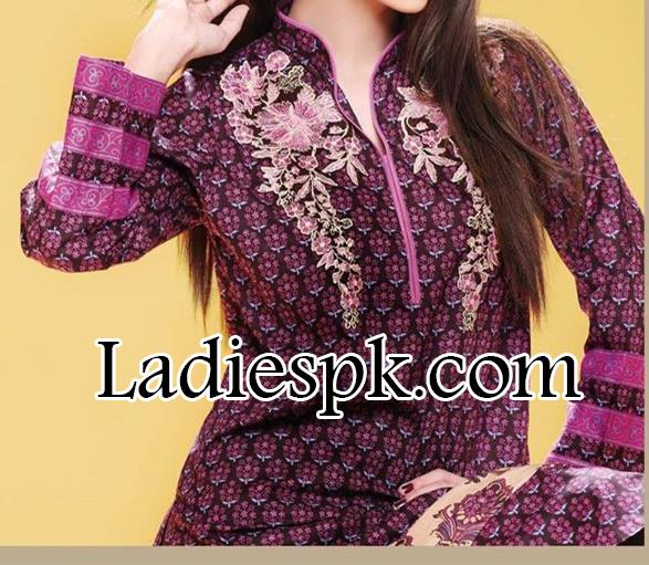 Yahsir Waheed Spring Summer Lawn Collection 2014 for Women Kameez