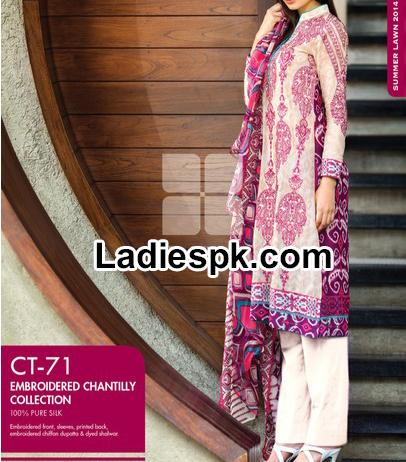Gul Ahmed Summer Collection 2014 with Prices Catalogue Vol 1 Dresses