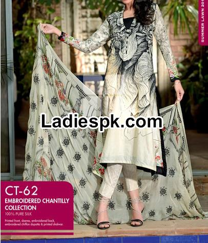 Gul Ahmed Summer Collection 2014 with Prices Catalogue Vol 1 Shalwar Kameez