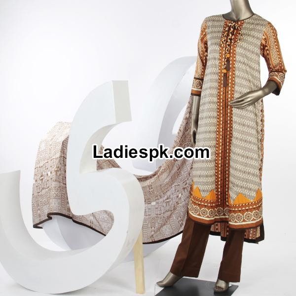Junaid Jamshed Spring Summer Lawn Collection 2014 with Price PKR-3385