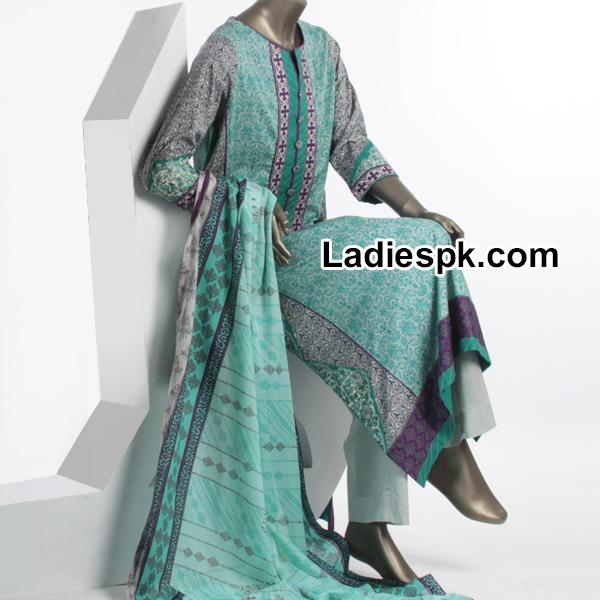 Junaid Jamshed Spring Summer Lawn Collection 2014 with Price