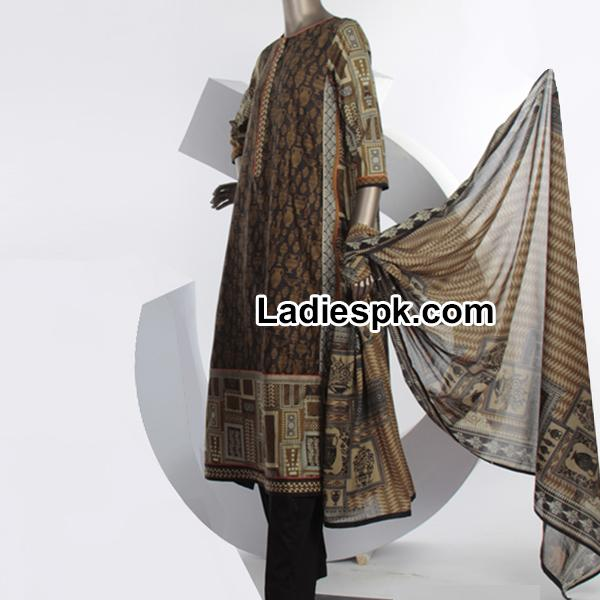 Junaid Jamshed  Summer Lawn Collection 2014 with Price PK-3585