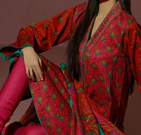 Alkaram Lawn Eid Collection 2014 Catalogue Vol-2 with Price Range Rs. 5,450