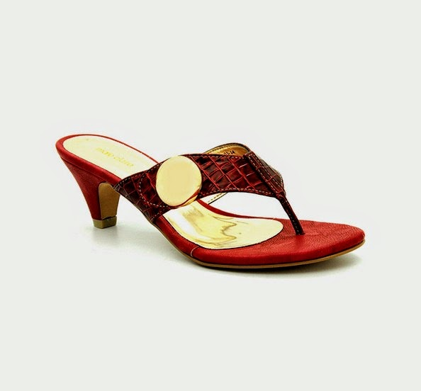 Bata Shoes - Eid Collection 2014 for Women and Girls with Price Red