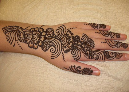 Best Arabic Eid Mehndi Designs 2014 For Hands Simple Henna