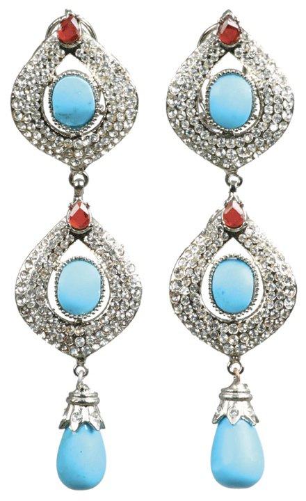 Best Beautiful Stylo Girls Eid Jewellery 2014 Designs Collection, Rings, Earrings, Necklaces Grils Women