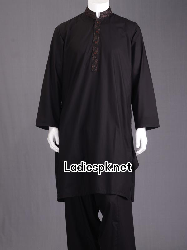 Shalwar Kameez Fashion Junaid Jamshed Boys Eid Kurta Collection 2014 with Price Men Gents PKR-3785