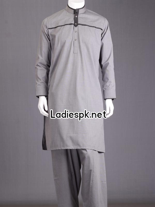JJ Junaid Jamshed Boys Eid Kurta Shalwar Kameez Collection 2014 with Price Men Gents PKR-4985