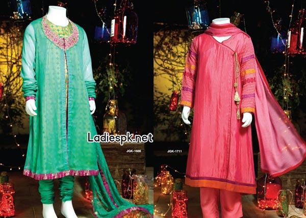 Junaid-Jamshed-Dresses-Teens-Kidz-Kids-Collection-for-Eid-2014-Girls