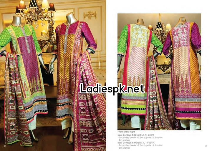 junaid jamshed eid collection 2014 catalogue for Women & Girls Kameez Fashion
