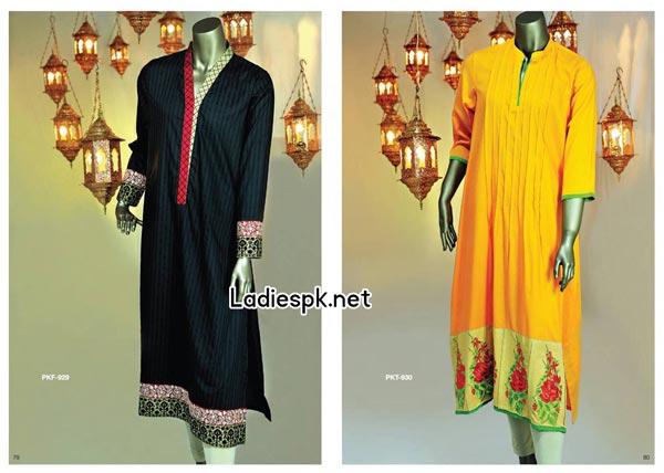 Junaid-Jamshed-Eid-Kurti-Collection-for-Women Girls Fashion Trend