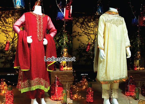 Junaid-Jamshed-Teens-and-Kids-Collection-for-Eid-2014-Summer-Fashion-Trend-Dress