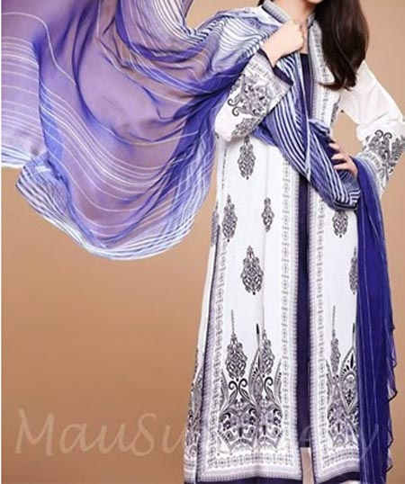 Lawn-Collection-2014-for-Summer-Mausummery-by-Huma for Women Facebook