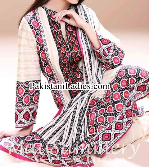 Mausummery-by-Huma-Summer-Dresses-2014-for-Women and Girls lawn 2014 catalogue Facebook