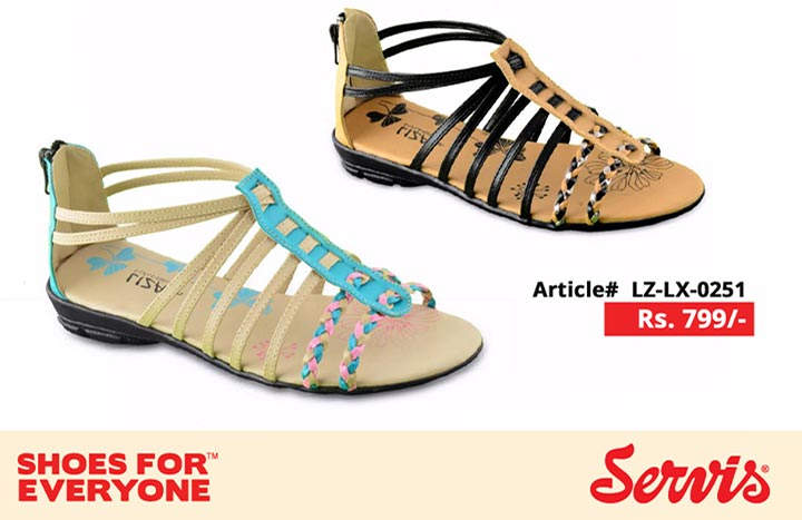 service 2014 Sandal for Girls servis shoes pakistan eid summer collection for Women with Prices Slipper New arrivals