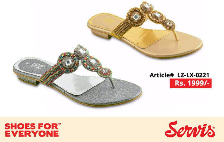 service 2014 servis shoes pakistan eid summer collection for Women with Prices Slipper