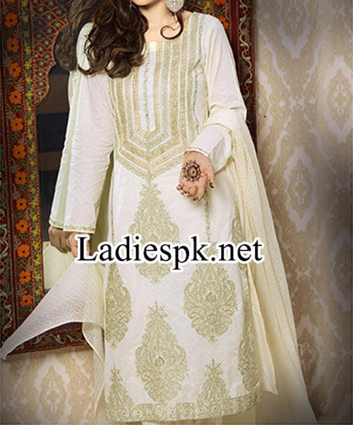 Shalwar Kameez Design Fashion 2014 Women Eid Dresses Collection for Girls Facebook Salwar Trend