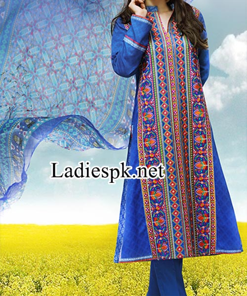 Shalwar Kameez Design Fashion 2014 Women Eid Dresses Collection for Girls Facebook Salwar Trends