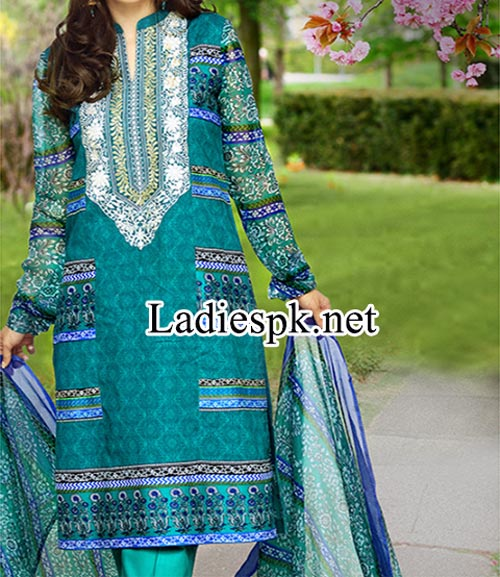 Shalwar Kameez Design Fashion 2014 Women Eid Dresses Collection for Girls