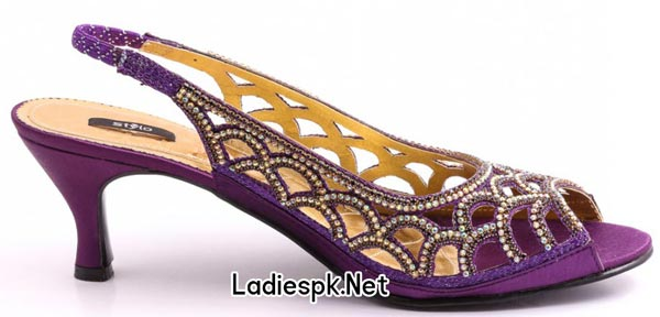 Stylo-Shoes-Eid-Collection-2014-for-Women-&-Girls-with-Prices-Baingani-Medium-Fancy-Sandal-(L62845)-PKR-3490