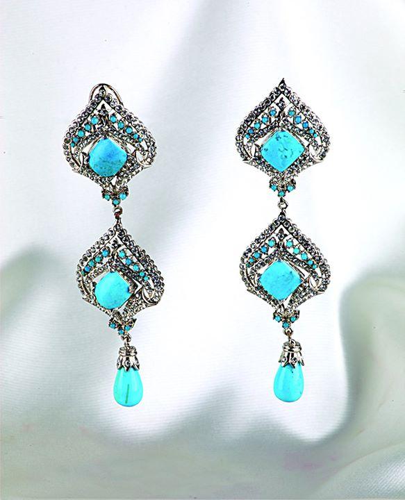Trendy Earrings Beautiful Stylo Girls Eid Jewellery 2014 Designs Collection, Rings, Earrings, Necklaces Women Girls