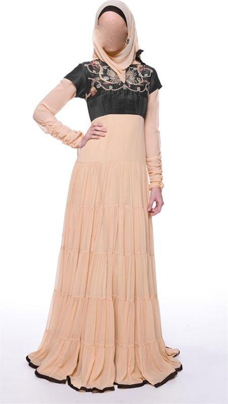 Fancy Abaya Kaftan Jalabiya Hijab Fashion 2014 2015 Uae Kuwait
