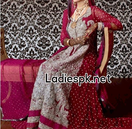 Fashion-Trends-Of-Full-Sleeve-Bridal-Wedding-Dresses-2014-For-Pakistani-Indian-Facebook-Nomi-Ansari-Fancy