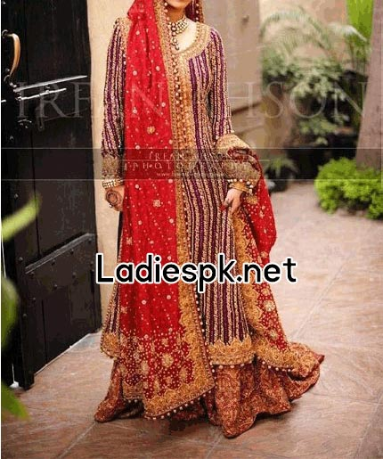 Fashion-Trends-Of-Full-Sleeve-Bridal-Wedding-Dresses-2014-For-Pakistani-Indian-Facebook-Nomi-Ansari-Long