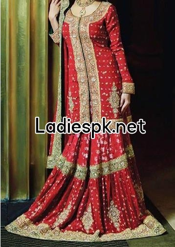Fashion-Trends-Of-Full-Sleeve-Bridal-Wedding-Dresses-2014-For-Pakistani-Indian-Facebook-Nomi-Ansari