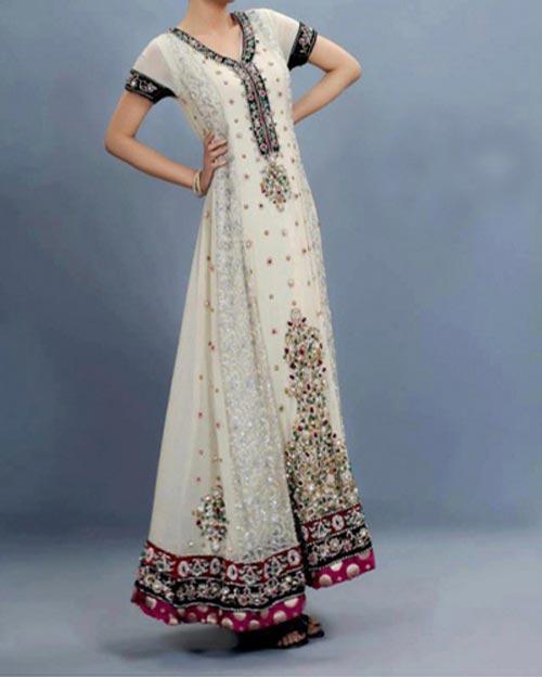 Pakistani-Design-Style-Maxi-Dress-for-Wedding,-Party-2014-2015-Fashion-Trends-Facebook-Frock-Lehenga-Chiffon-Maxi-Dress
