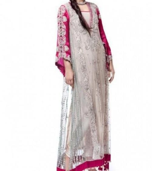 Pakistani Maxi Style Dress For Wedding Party 2014 2015 Fashion 2015 Pakistani Dresses Fashion