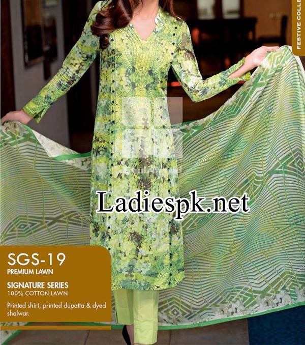Price Rs. 4,200.00 Collection by Gul Ahmed 2014 2015 Women Shalwar Kameez Dresses Design Facebook