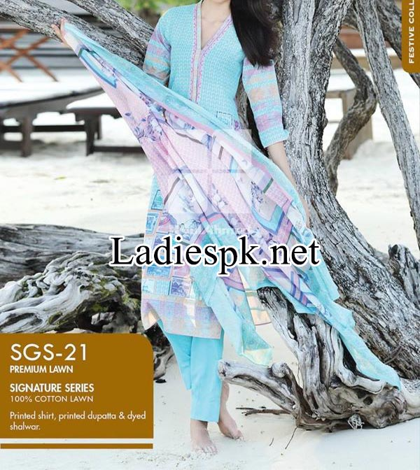 Price-Signature-Series-Lawn-Collection-by-Gul-Ahmed-2014-2015-Women-Shalwar-Kameez-Dresses-Design-Fashion-Trend-Rs