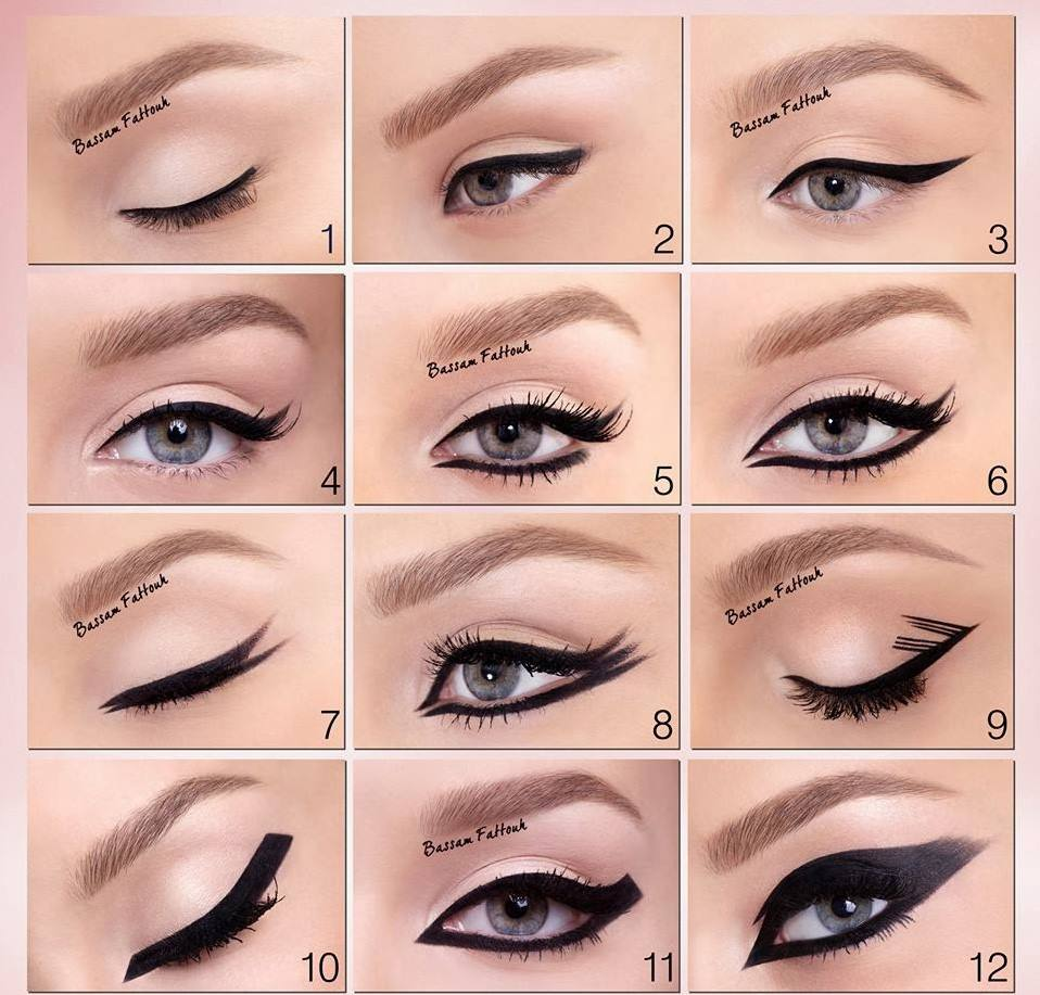 Which Style Of Eye Liner You Like Most Beautiful Eyeliner Styles 2014 2015 Images