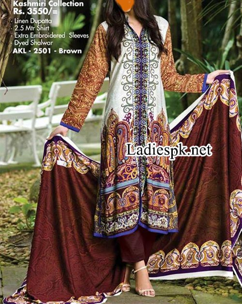 Alkaram Winter Dresses 2014 Volume 1 For Women girls Shalwar Kameez Design 2015 Fashion Salwar