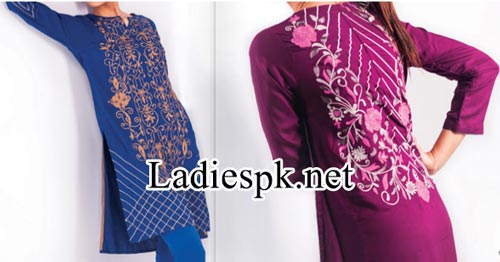 catalog Nishat Linen Nisha Fashion Fall Winter Dresses Designs Collection 2014 2015 with Price for Women and Girls